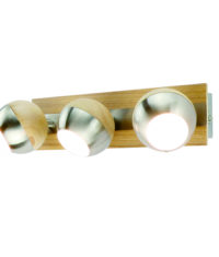 wooden wall light fixtures+round+LED chip