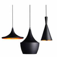 American-Retro-Industrial-Matte-Black-Pendant-Lamp