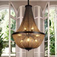 vintage art deco chandelier