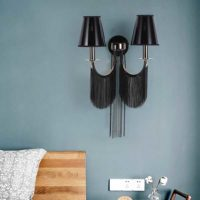 vintage deco wall sconce