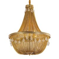 vintage swag chandelier