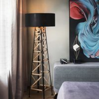 large base floor lamp