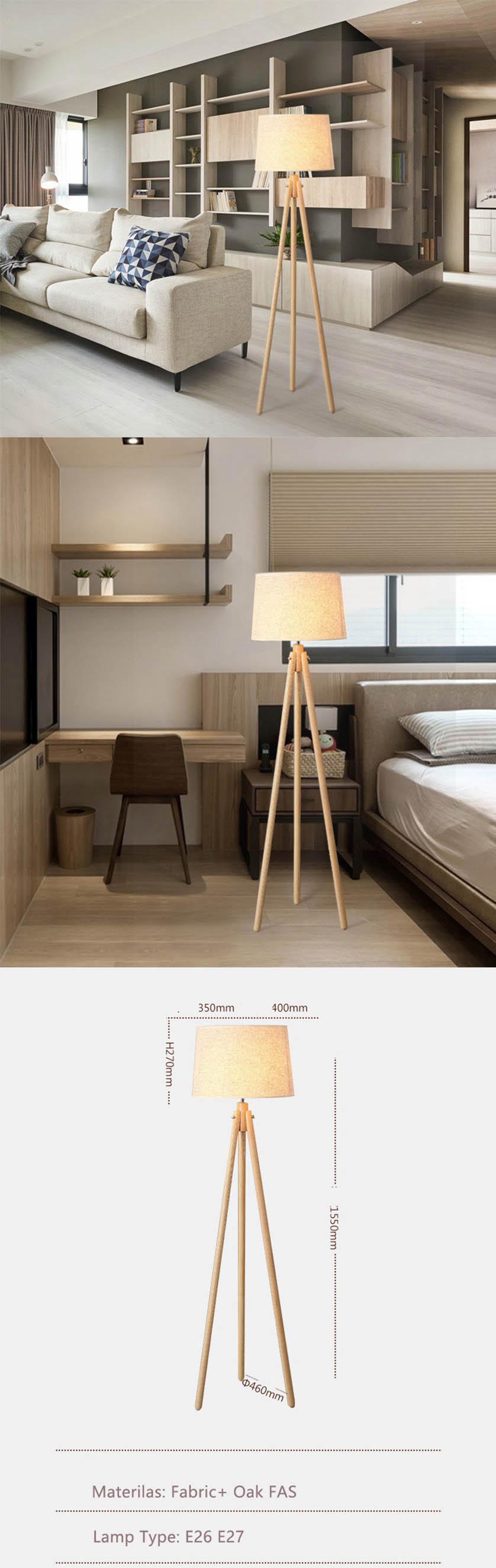 wooden floor light
