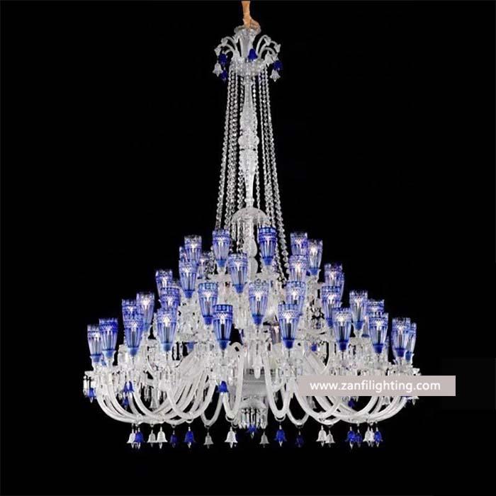 antique baccarat lamp