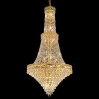 large round chandelier