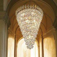 large pendant chandelier