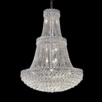 oversized modern chandelier