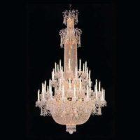 large vintage chandelier