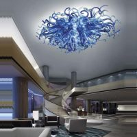 hand blown glass chandeliers chihuly