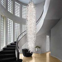 bowl chandelier