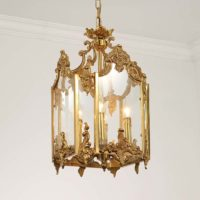 brass pendant chandelier