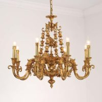 antique brass chandelier shop