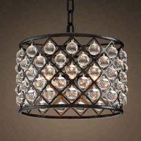 mid century lucite chandelier