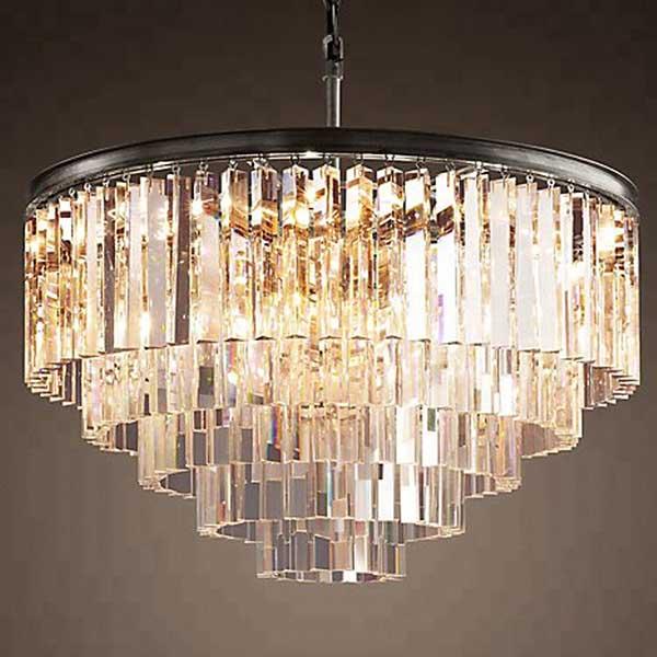 vintage crystal chandeliers for sale