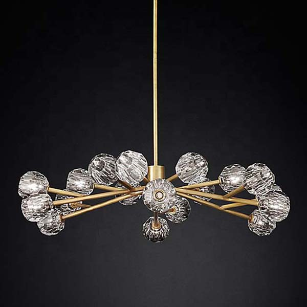 vintage mid century chandelier