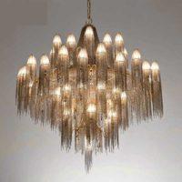 antique gold chandelier