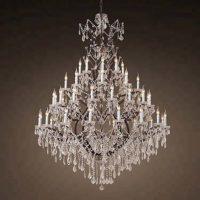 vintage industrial chandelier