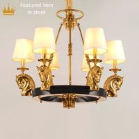antique bronze chandeliers