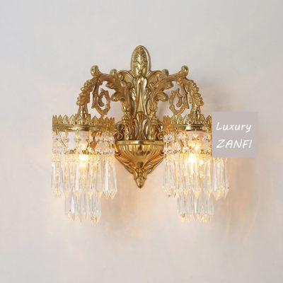 gold sconce lights