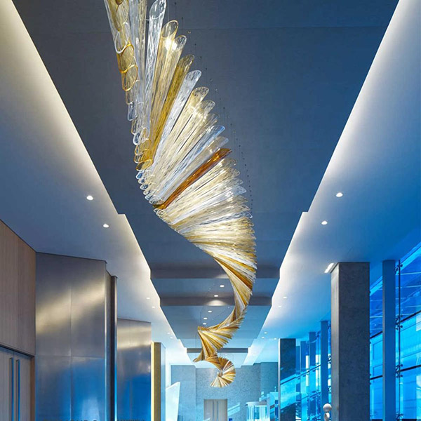 chandelier for hotel project