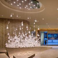 custom hotel lobby chandelier