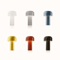modern sytle colorful mini cordless table lamps