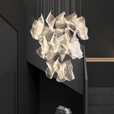 contemporary irregular pendant lighting